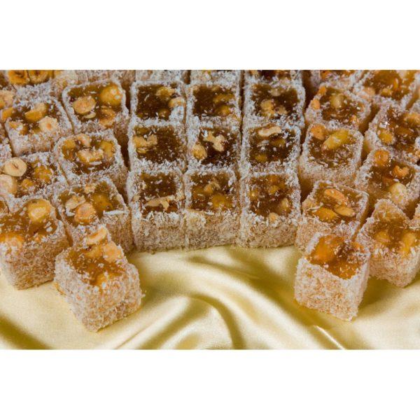 Рахат лукум сладости с орехами ассорти Царский