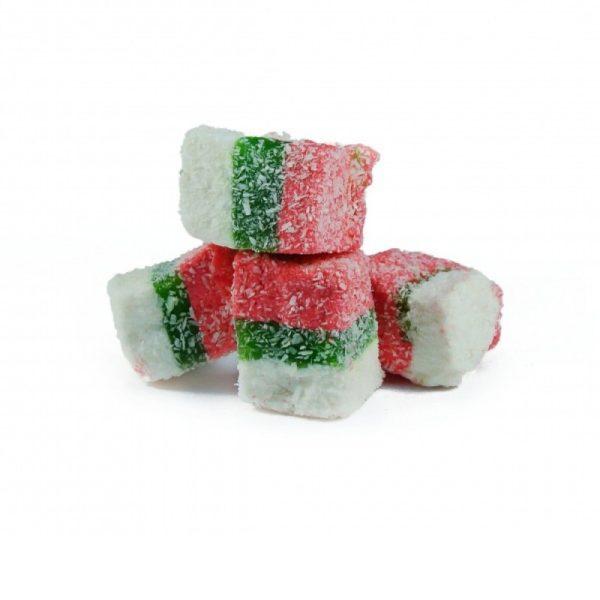 Рахат лукум сладости кубики Радуга