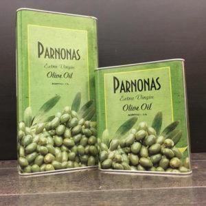 Масло оливковое Parnonas extra virgin 5 л ж:б