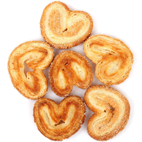 Печенье Ушки слоеные с сахаром